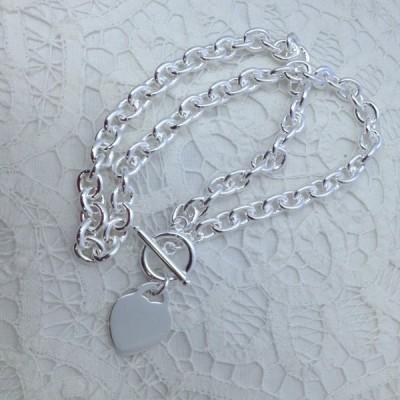 Колие Arcas с медальон сърце