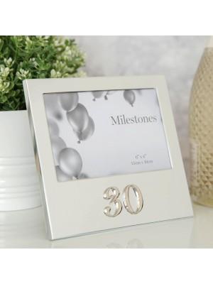 """Фоторамка рожден ден с 3D надпис """"30"""""""