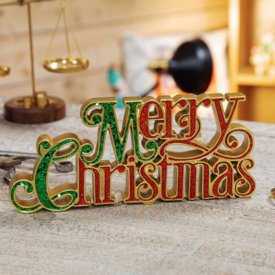 "Коледна декорация ""Merry Christmas"""