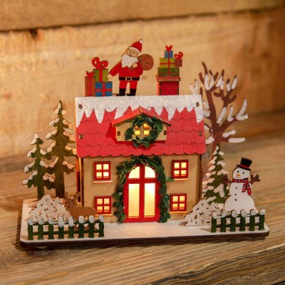 Коледна LED къща