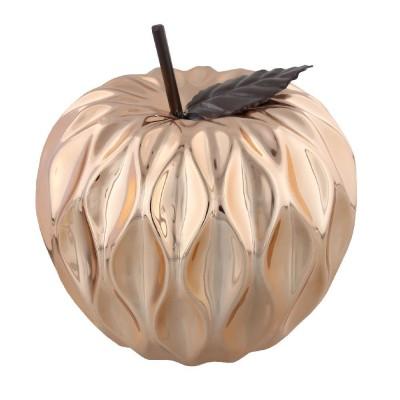 Стилен орнамент във формата на ябълка и диаметър 14 см с меден завършек.