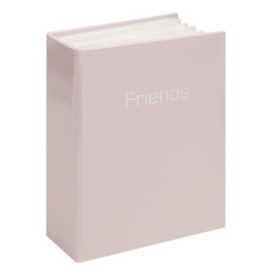 Фотоалбум розов гланц - Приятели, за 80бр. снимки с размер 10х15см.