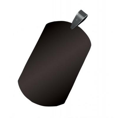 Военна плочка - черна с възможност за гравиране