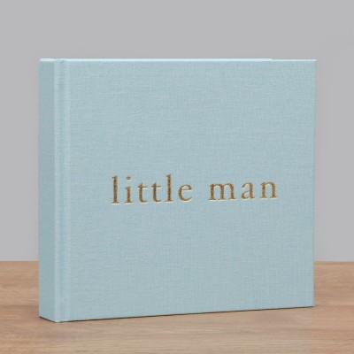 Бебешки фотоалбум LITTLE MAN  за 50бр. снимки с размер 10х15см