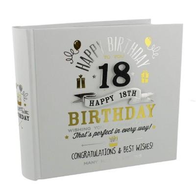 Фотоалбум 18-ти рожден ден за 80бр. снимки с размер 10х15см.