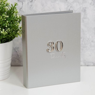 Фотоалбум за 30-ти рожден ден за 48 снимки с размер 13х18см