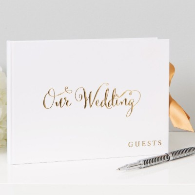 Сватбена книга за гости 80 страници