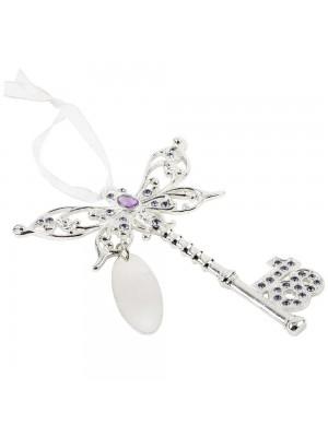 Ключ с пеперуда за 18-я рожден ден с възможност за гравиране