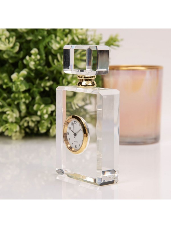 Стъклен часовник - бутилка за парфюм