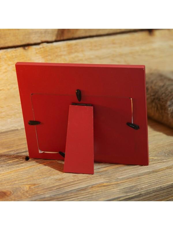 """Коледна фоторамка """"Дядо Коледа и Аз"""" за снимка с размер 15х10см."""