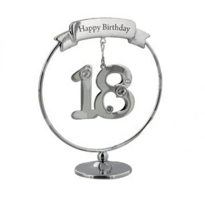 Красив подарък за 18-я рожден ден с кристали Swarovski