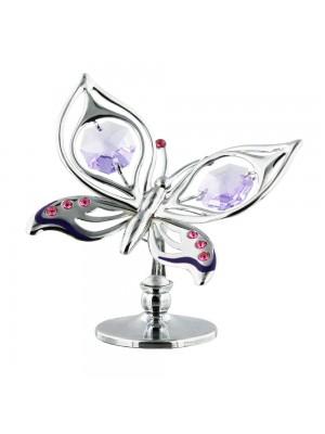Красивa статуетка с пеперуда и кристали Swarovski