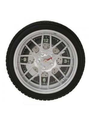 Стенен часовник автомобилна гума