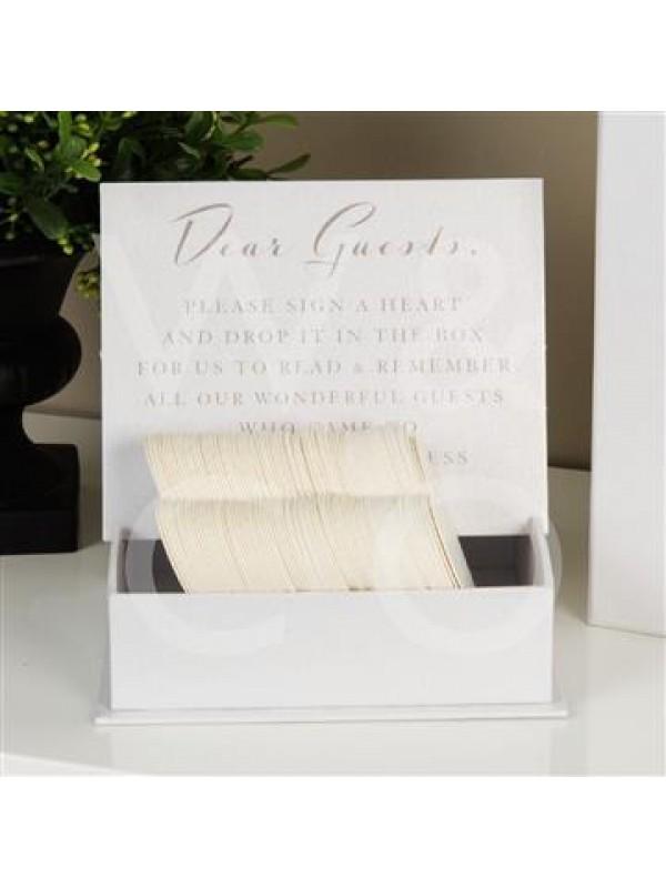 Красива кутия за пожелания от гостите