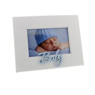 Фоторамка с 3D надпис BABY за момче