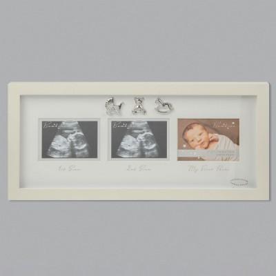 Прекрасна рамка с три снимки с размери 10 х 8 см.