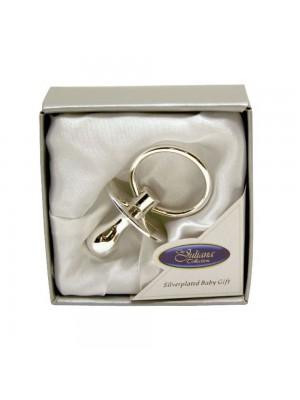 Залъгалка със сребърно покритие - подарък сувенир с възможност за гравиране