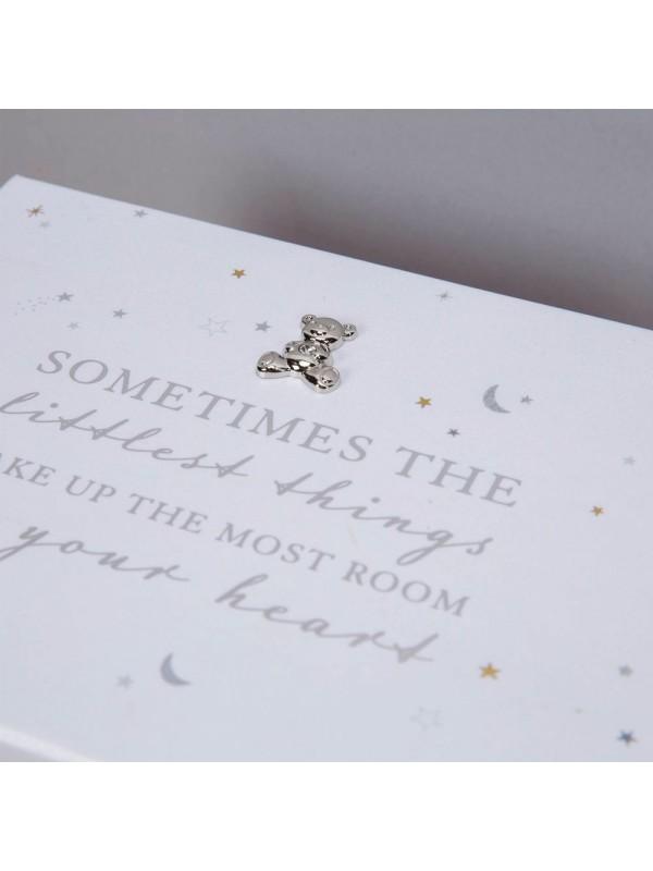 """Кутия за спомени с надпис """"понякога най-малките неща заемат най-много място в сърцето ти"""","""