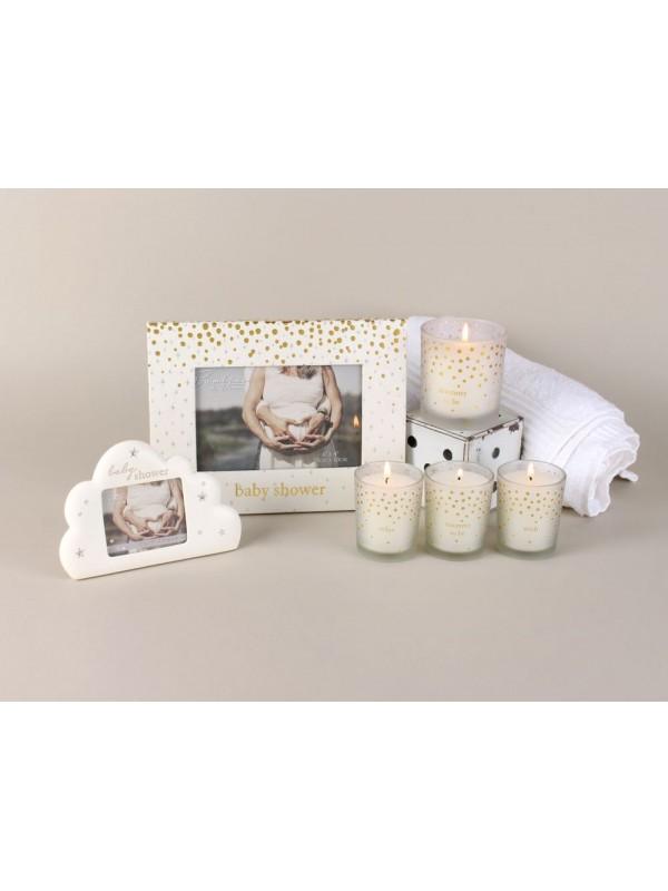 """Красив набор от 3 свещи """"Бъдеща мама"""""""
