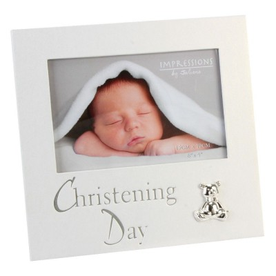 """Фоторамка """"денят на кръщението"""" за снимка с размер 10х15см"""