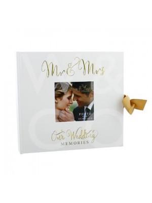Прекрасен сватбен албум на 'Mr & Mrs'