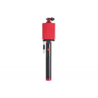 Селфи стик, преносима батерия 2200 мАч - Slatham, син или червен
